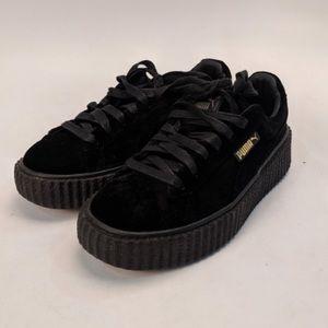 Rihanna Fenty Puma Creepers Black